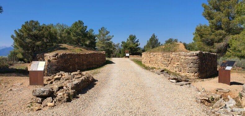 entrada castellet de Banyoles