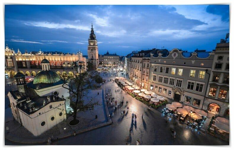free tour por Cracovia de noche