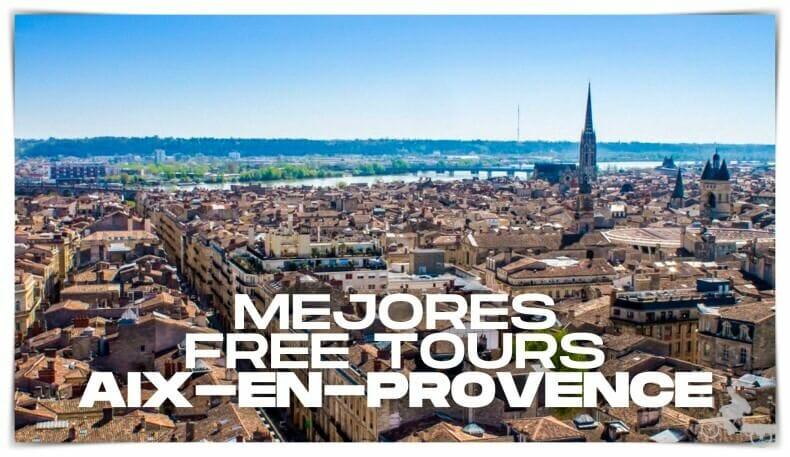mejores free tours en Aix en Provence