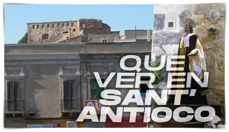qué ver en Sant Antioco