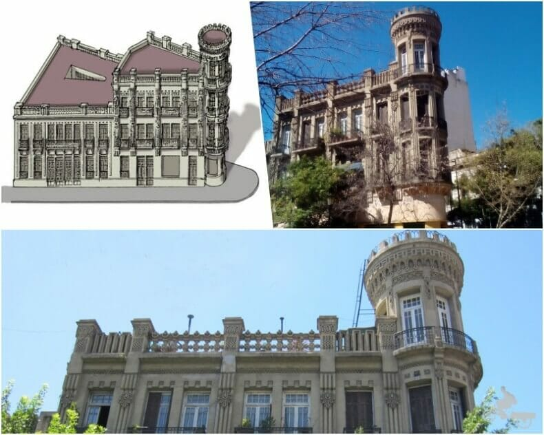 casa fantasma de Buenos aires