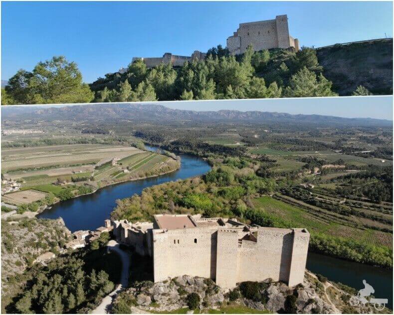 castillo de Miravet en tarragona