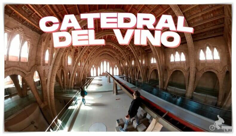 Catedral del vino en Pinell de Brai