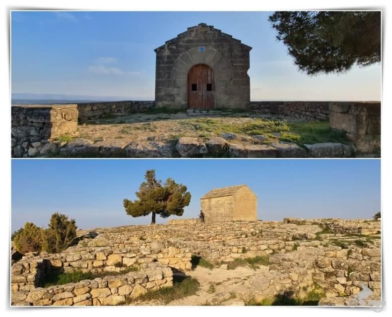 ermita del poblado ibérico de San Antonio
