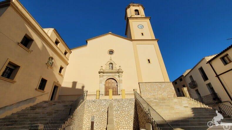 iglesia de Sant llorenç pinell de brai