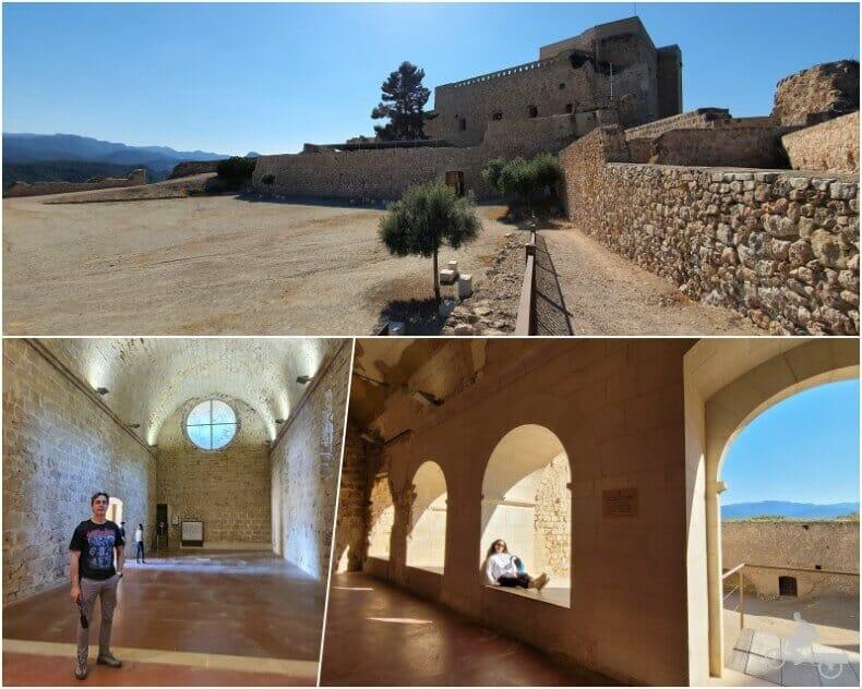interior castell de Miravet