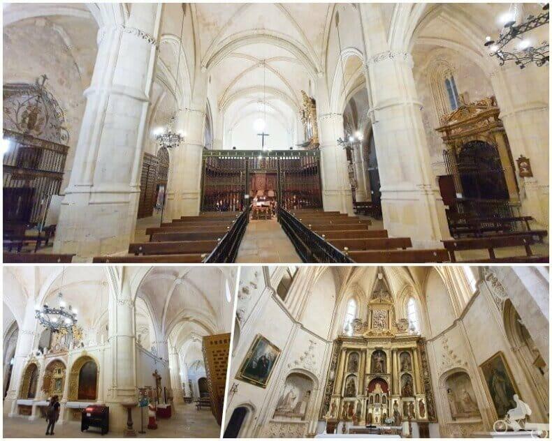 colegiata de San bartolomé belmonte interior