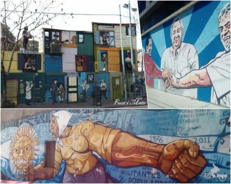 murales del barrio de la Boca