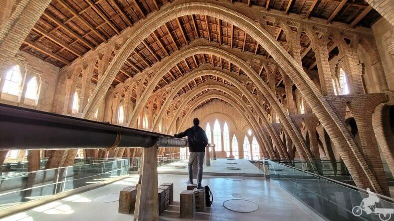 nave central catedral del vino