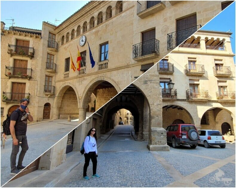 plaza España de Calaceite