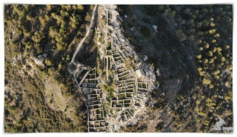 planta de poblado ibérico
