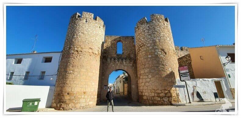 puerta cchinchilla - que visitar en Belmonte