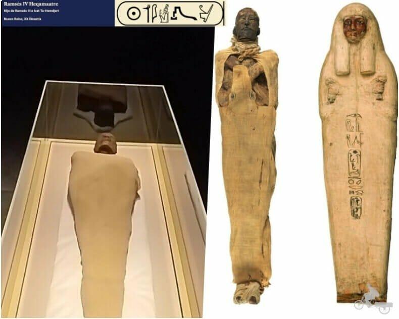 momia de Ramses IV
