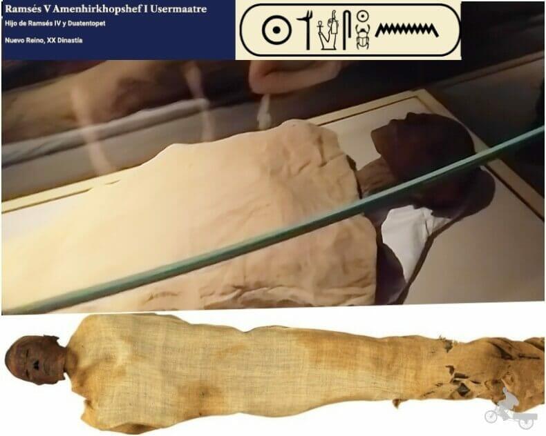 momia de Ramses V