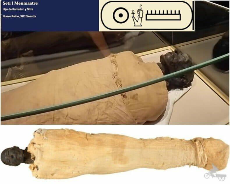 momia de Seti I