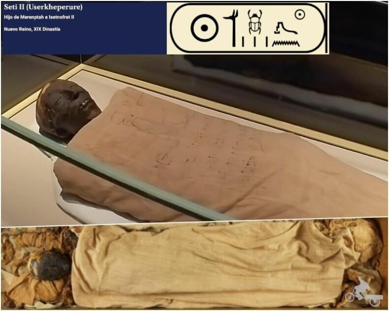 momia de Seti II