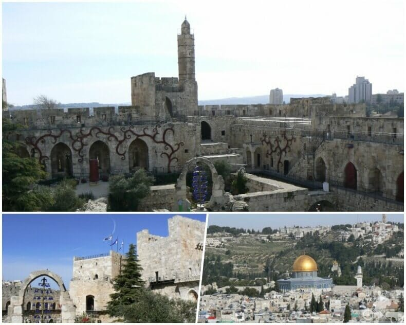 ciudadela fortaleza de la torre de David - museo que ver en Jerusalén