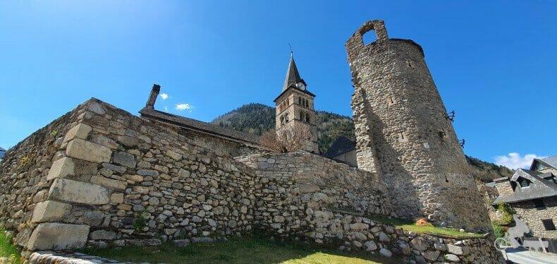 El castillo de Entrasaigües