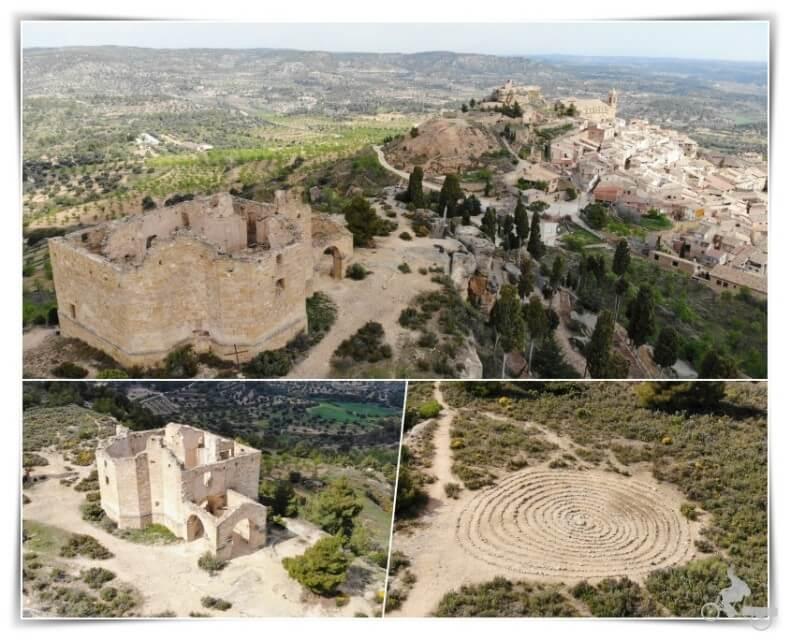 ermita de santa Bárbara en La Fresneda