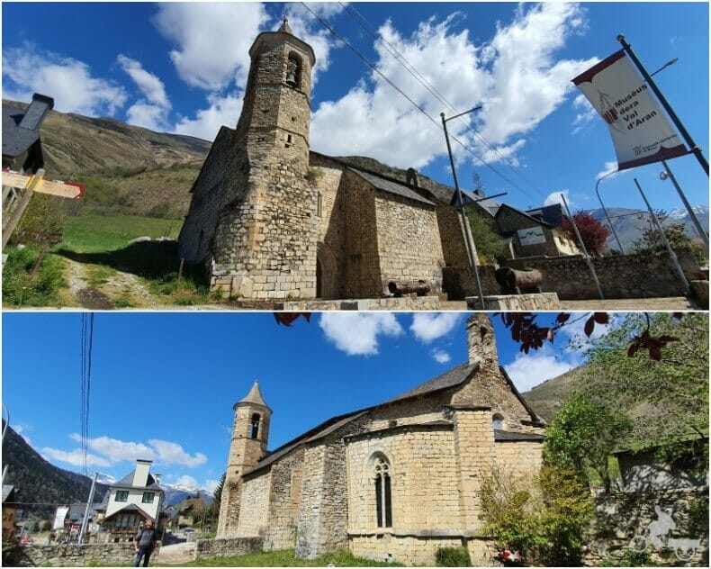 iglesia de Sant Joan de Arties