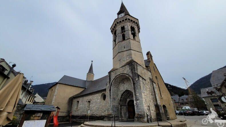 iglesia de San miguel en Vielha