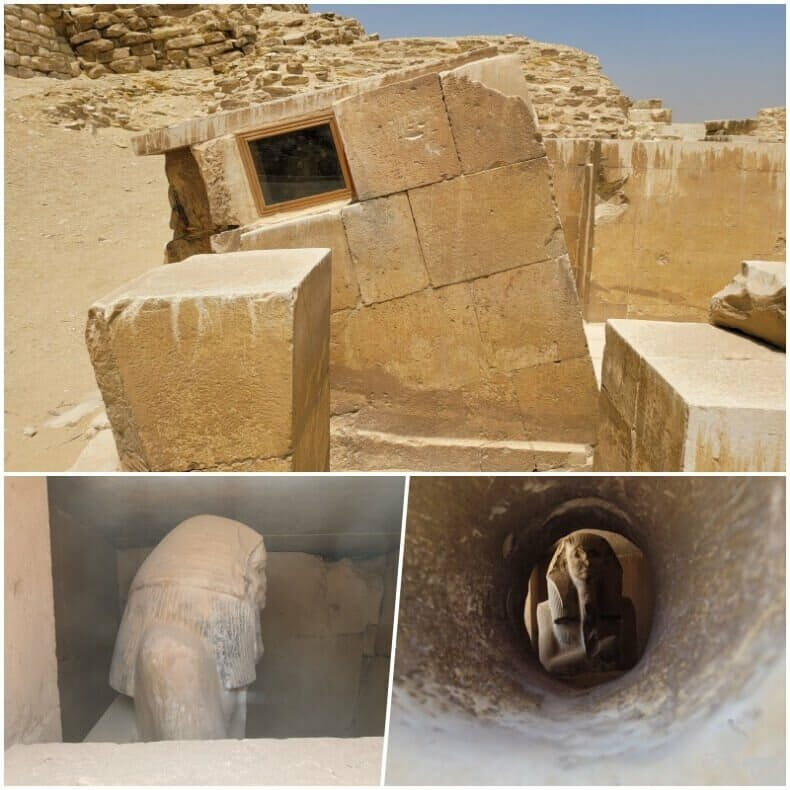 serdab de Saqqara