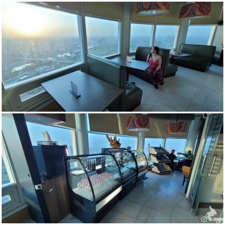 cafetería de la torre de El Cairo