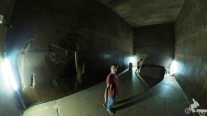 cámara funeraria piramide de Keops