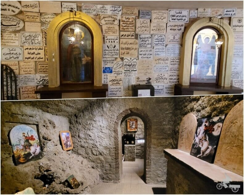 cripta iglesia san jorge el cairo