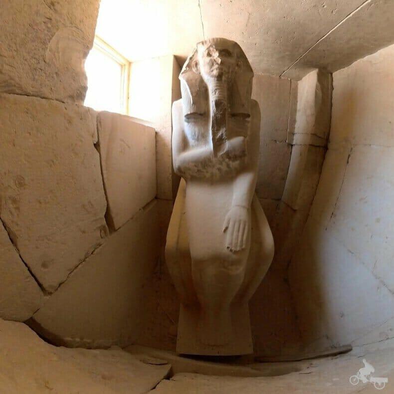 Estatua de Zoser del Serdab