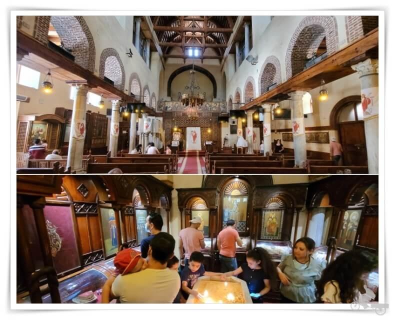 iglesia de Santa Bárbara barrio copto