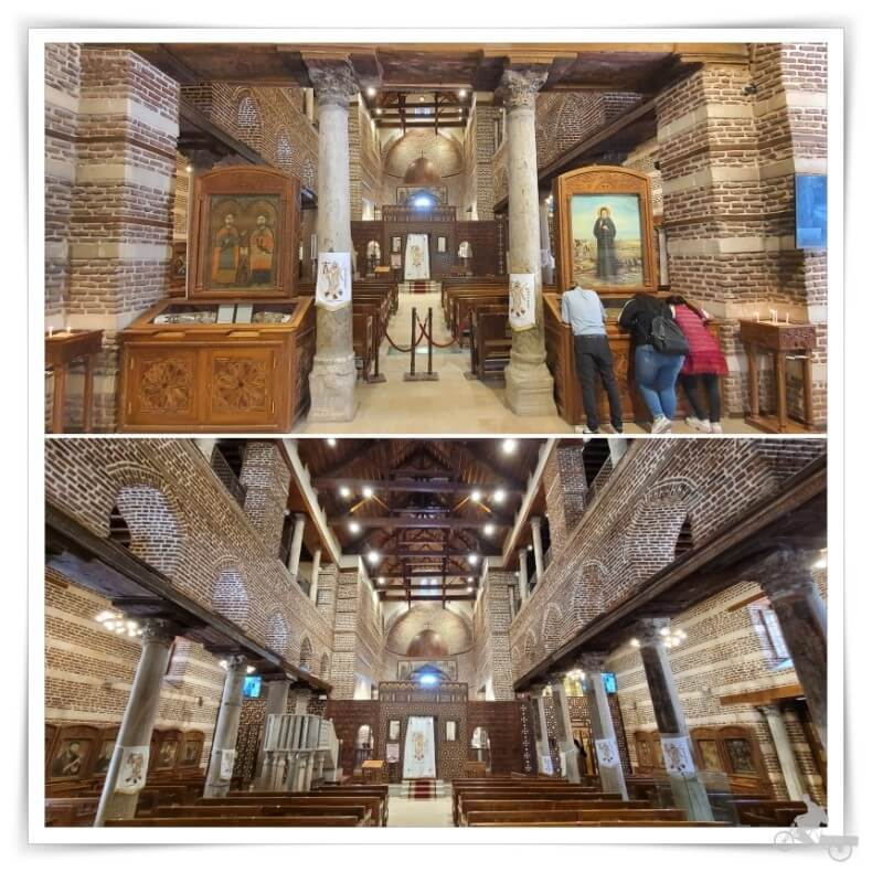 iglesia de San Sergio y San Baco en el Cairo