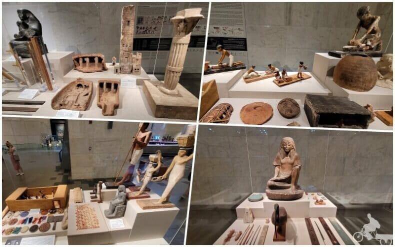 museo NMEC arte egipcio