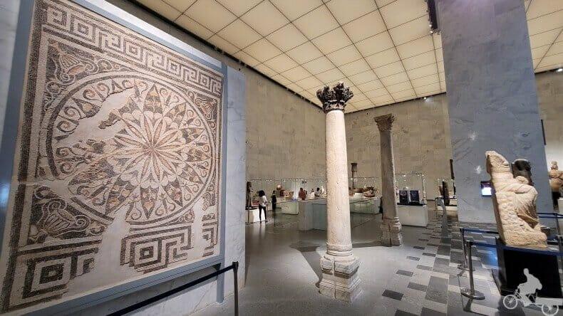 sala grecorromana del NMEC
