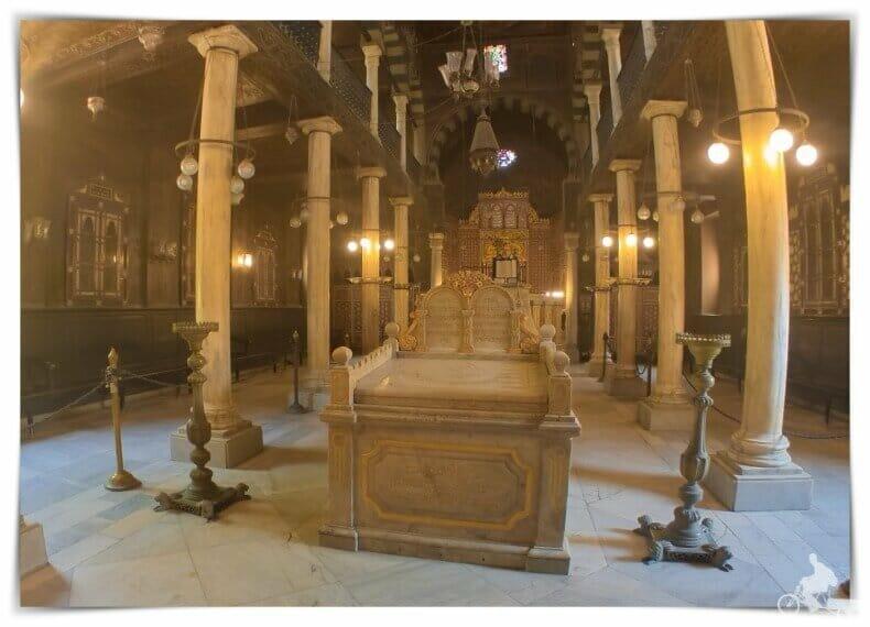 Sinagoga del Barrio Copto del Cairo