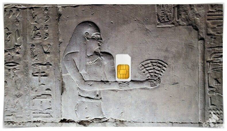 tarjeta SIM Egipto internet