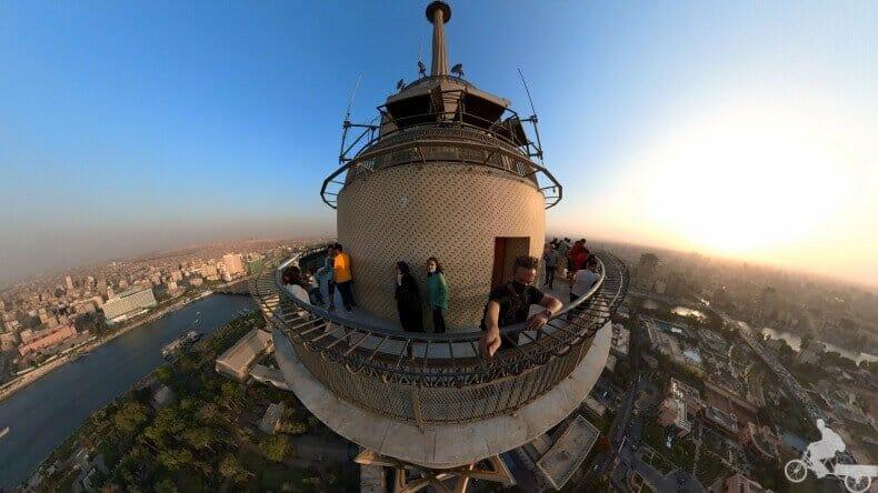 En lo alto de la Torre de El Cairo