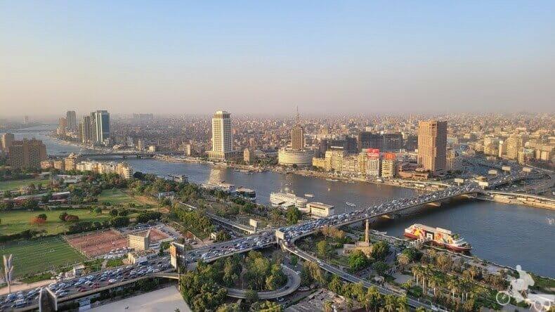 vistas desde la Torre El Cairo