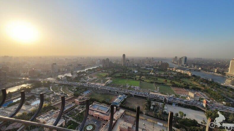 vistas desde la Torre del Cairo