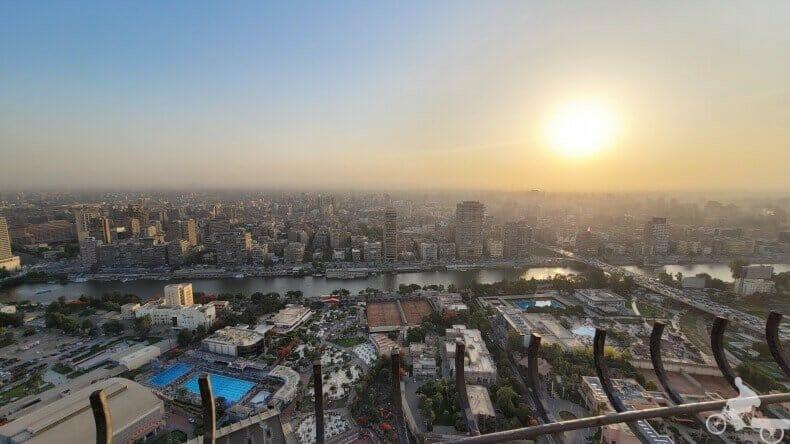 vistas desde la Torre de El Cairo