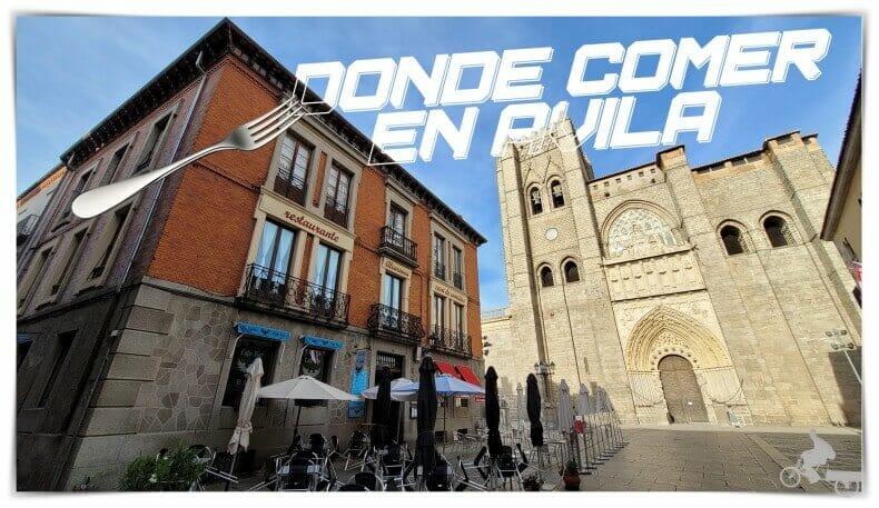 Dónde comer en Ávila