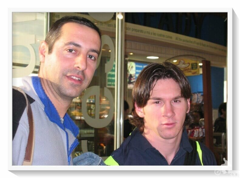 Messi y Mi baúl de blogs