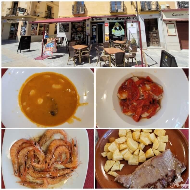 restaurante la Rubia de Ávila
