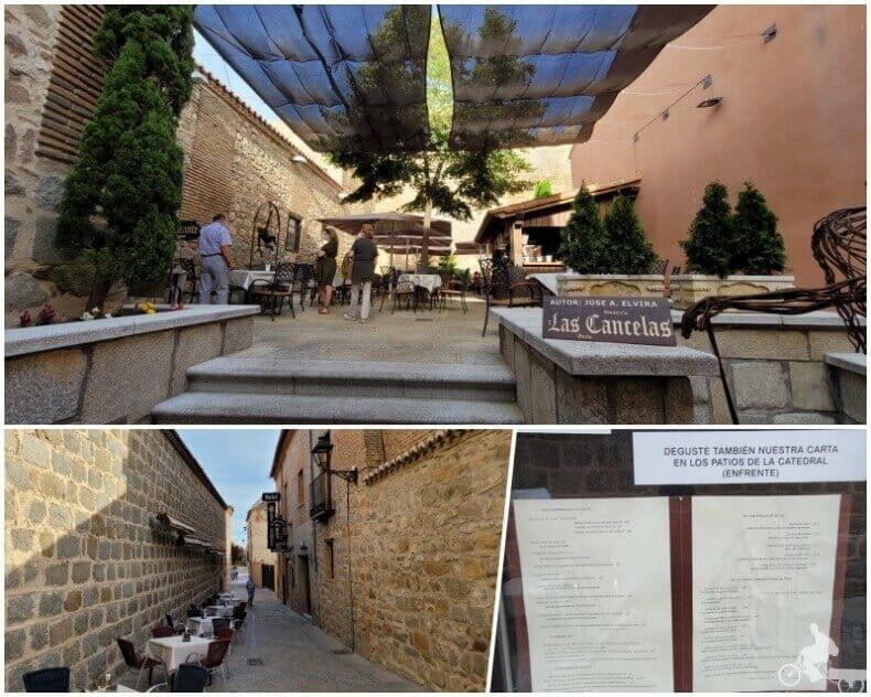 Restaurante las Cancelas - dónde comer en Ávila