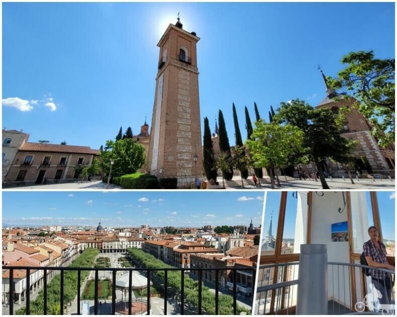 Torre de la antigua iglesia de Santa María