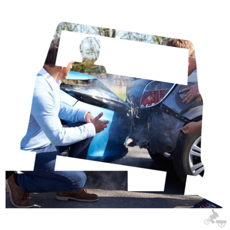accidente coche en USA