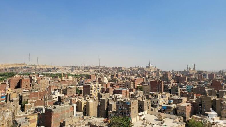 vistas desde la puerta Bab Zuwayla