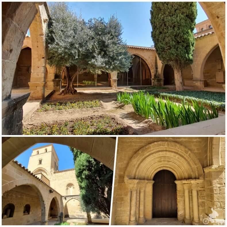claustro del castillo de Alcañiz
