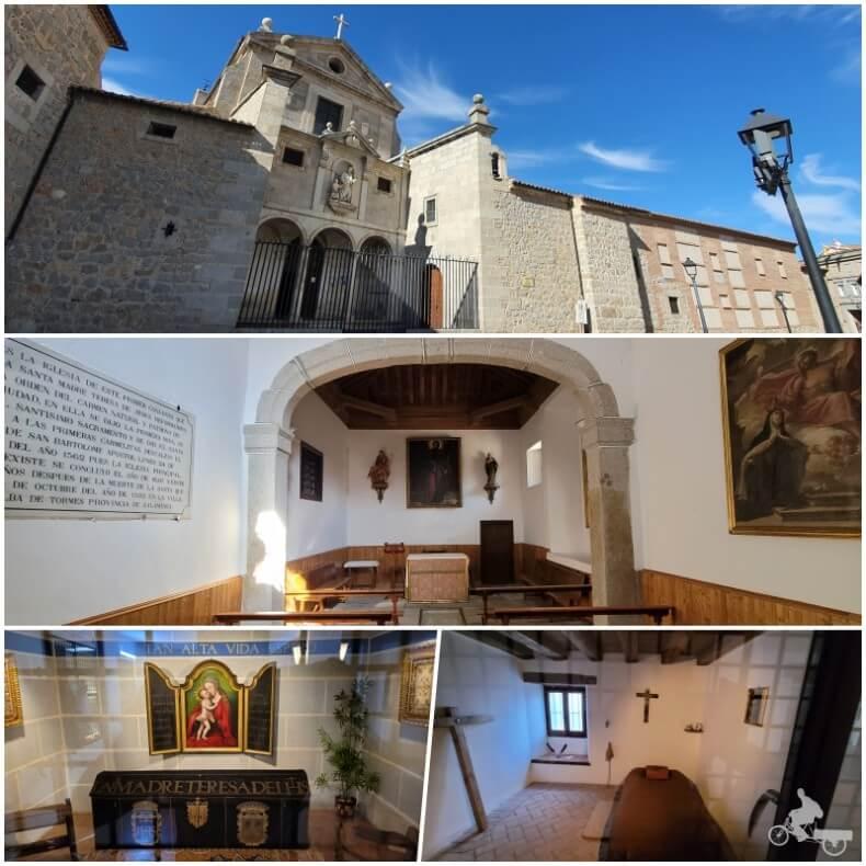 convento de San José que ver en Ávila
