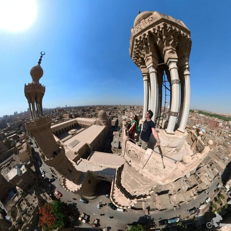 torres gemelas de Egipto